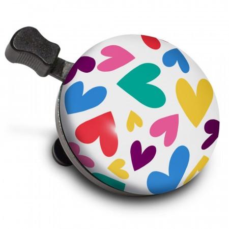 Sonerie bicicleta Nutcase Happy Hearts Bell