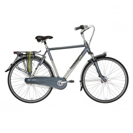 Portocala mecanica Gazelle Orange: bicicleta touring cu suspensii