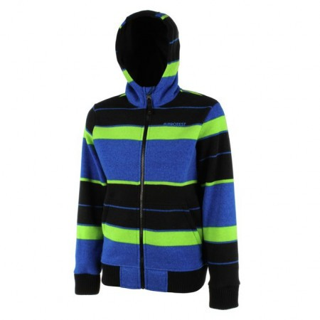 Fleece PROTEST FOSTER JR full zip hoody