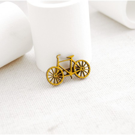 Brosa bicicleta clasica mica (Glory Box)