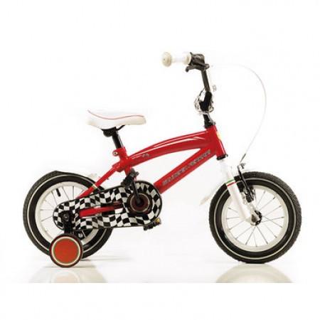 Bicicleta de copii Ferrari Team 12 Rosu/Alb