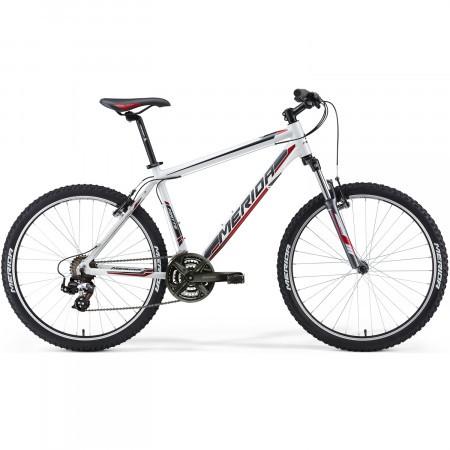 Bicicleta Matts 05-V alb-rosu