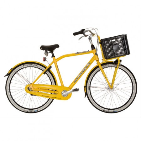 Bicicleta galbena Gazelle NY Cab