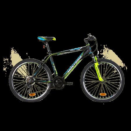 Bicicleta de munte Romet Monteria MRX Negru/Verde