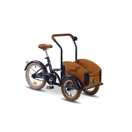 Bicicleta cargo unisex Pegas Mini Cargo 1 viteza Albastru Calator