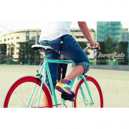 Bicicleta Cheetah Blue Red