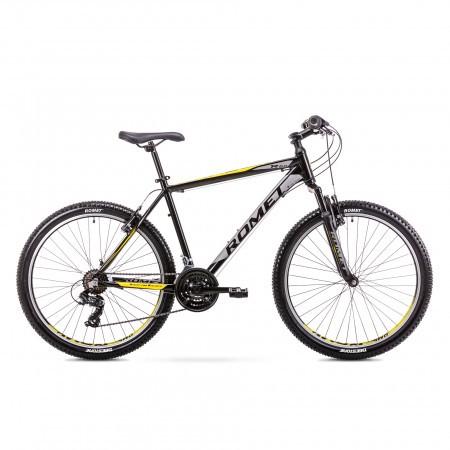 Bicicleta de munte pentru barbati Romet Rambler R6.0 Negru/Galben 2019