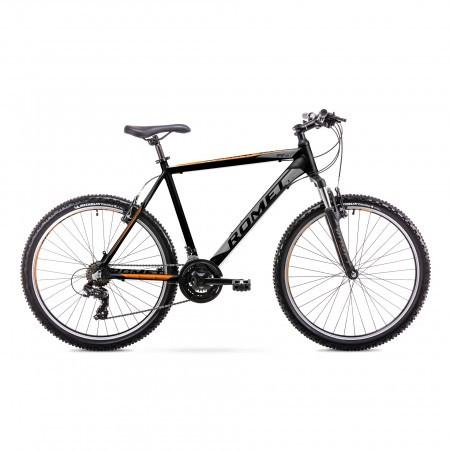 Bicicleta de munte pentru Barbati Romet Rambler R6.1 Negru/Portocaliu 2019