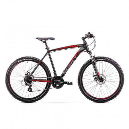 Bicicleta de munte pentru barbati Romet Rambler R6.3 Negru/Rosu 2019