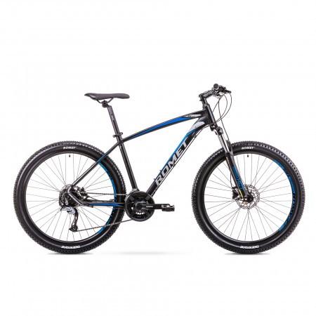 Bicicleta de munte pentru Barbati Romet Rambler R7.3 Negru/Albastru 2019