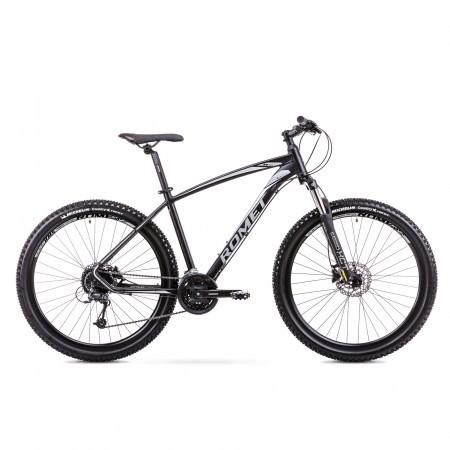 Bicicleta de munte pentru Barbati Romet Rambler R7.4 Negru/Argintiu 2019