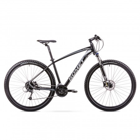 Bicicleta de munte pentru Barbati Romet Rambler R9.4 Negru/Gri 2019