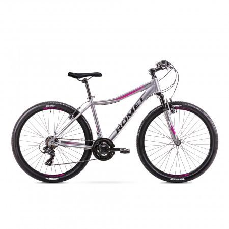 Bicicleta de munte pentru Femei Romet Jolene 6.0 Gri 2019