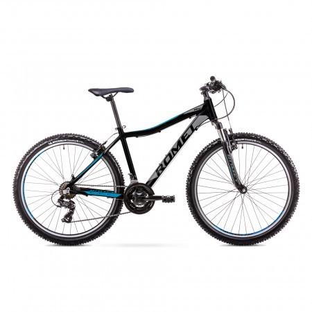 Bicicleta de munte pentru Juniori Romet Rambler R6.1 Jr Negru/Albastru 2019