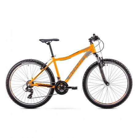 Bicicleta de munte pentru Juniori Romet Rambler R6.1 Jr Portocaliu/Gri 2019