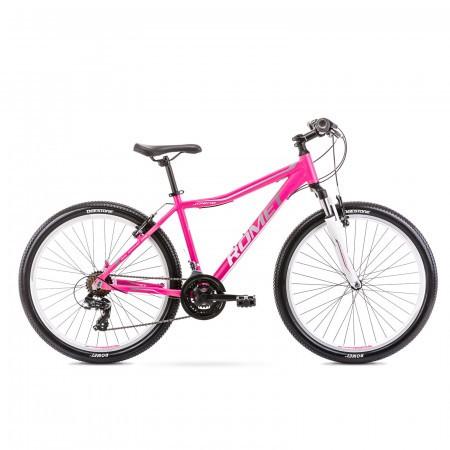 Bicicleta de munte pentru femei Romet Jolene 6.0 Roz/Gri 2021