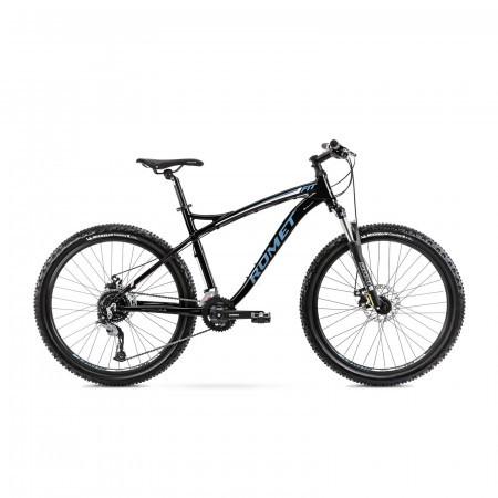 Bicicleta de munte pentru barbati Romet Rambler Fit 26 Negru/Albastru 2022