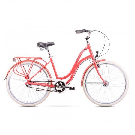 Bicicleta de oras pentru Femei Romet Pop Art 26 Rosu 2019