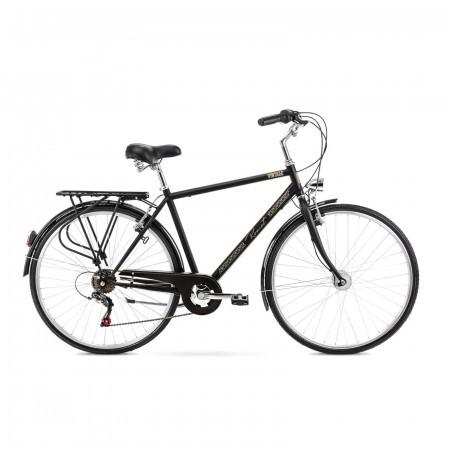 Bicicleta de oras pentru barbati Romet Vintage M Negru 2021