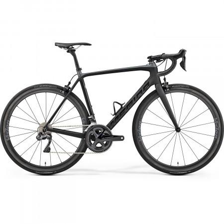 Bicicleta de sosea pentru barbati Merida Scultura 8000-E Negru mat(Negru ) 2019
