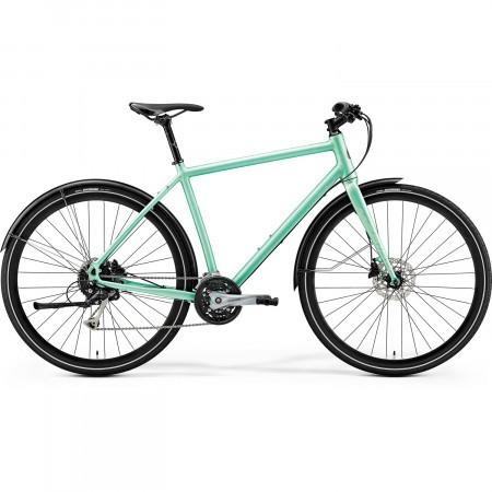 Bicicleta de trekking/oras pentru barbati Merida Crossway Urban 100 Verde menta 2019