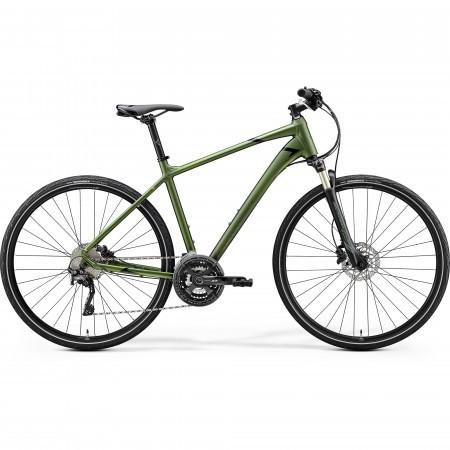Bicicleta de trekking pentru Barbati Merida Crossway XT-Edition Mat Verde Inchis (Negru) 2020
