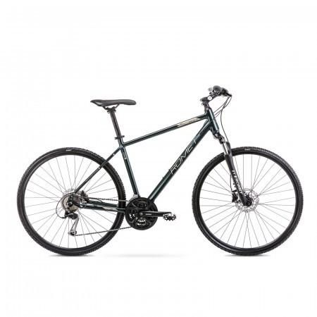 Bicicleta de trekking pentru barbati Romet Orkan 4 M Verde 2021
