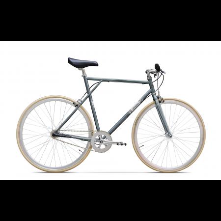 Bicicleta de oras fixie Pegas Clasic Gri Spatial