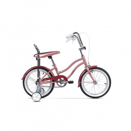 Bicicleta pentru copii Pegas Mezin Roz Piersica 2017