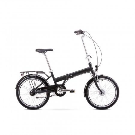Bicicleta pliabila Unisex Romet Wigry 4 Negru/Gri 2019