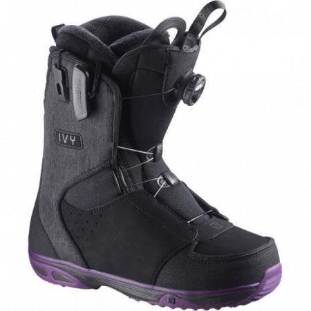 Boots Snowboard Salomon Ivy Boa Sj Negru/Mov