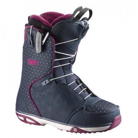 Boots Snowboard Salomon Ivy Polka Negru/Mov