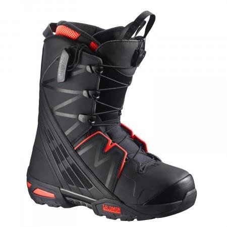 Boots Snowboard Salomon Malamute Negru/Portocaliu