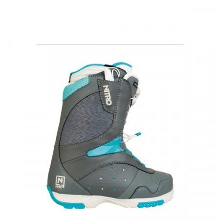 Boots Nitro CROWN TLS grey-bone-turquoise