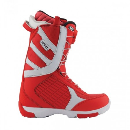 Boots Snowboard Nitro Axis TLS red