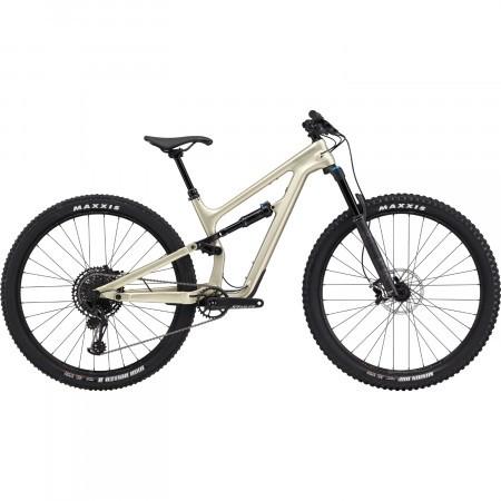 Bicicleta full suspension Cannondale Habit Carbon Women's 1 Bej auriu 2020