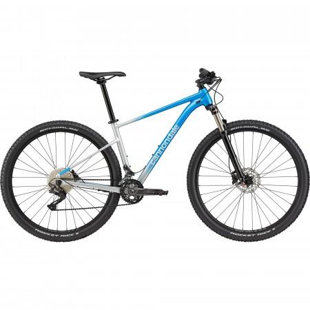 Bicicleta de munte hardtail Cannondale Trail SL 4 Albastru electric 2021