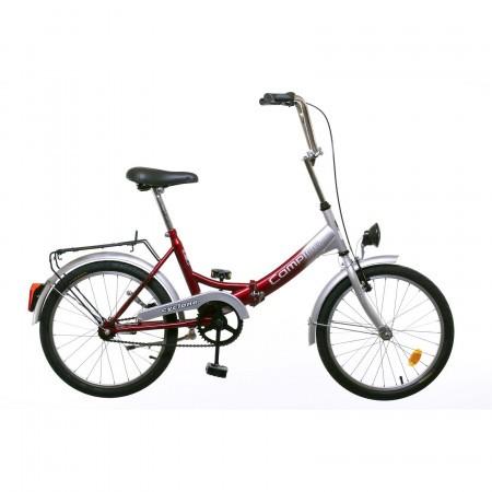 Bicicleta rosie Koliken Camping Pliabila 20