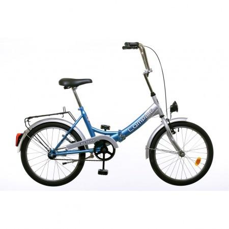 Bicicleta albastra Koliken Camping Pliabila 20