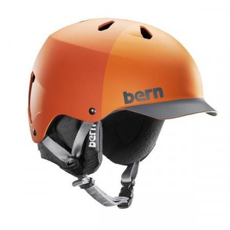 Casca BERN Watts Matte Orange Hatstyle