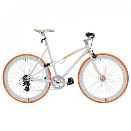 Bicicleta Cheetah Lady Orange 2014 7 viteze