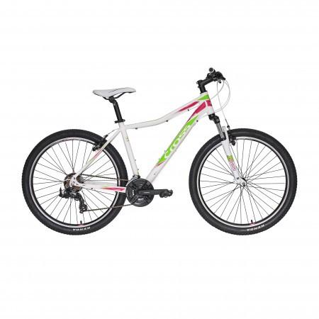 Bicicleta CROSS FUSION Lady 27.5 VB Alb/Roz/Verde