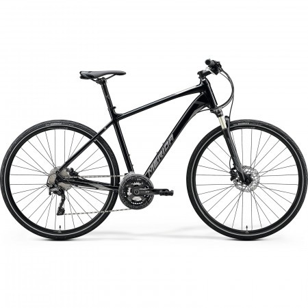 Bicicleta Trekking/Oras barbati Merida Crossway Xt-Edition Negru/Argintiu 2020
