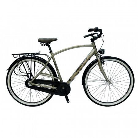 Bicicleta Devron Urbio City Men C1.8 Negru/Gri