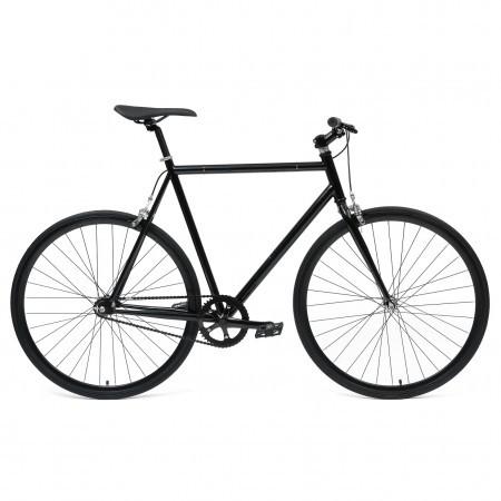 Bicicleta Fixie flip-flop hub Deoras Negru