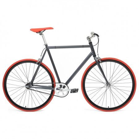 Bicicleta Fixie flip-flop hub Deoras Antracit