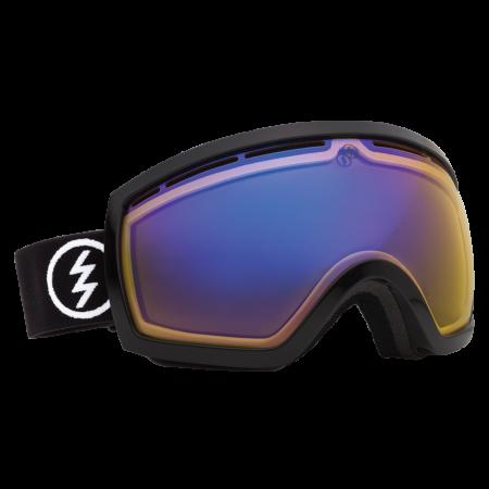 Ochelari Ski ELECTRIC EG2.5 Gloss Black (Yellow/Blue Chrome)