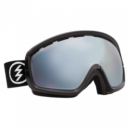 Ochelari Ski ELECTRIC EGB2s Gloss Black (Blue/Silver Chrome)