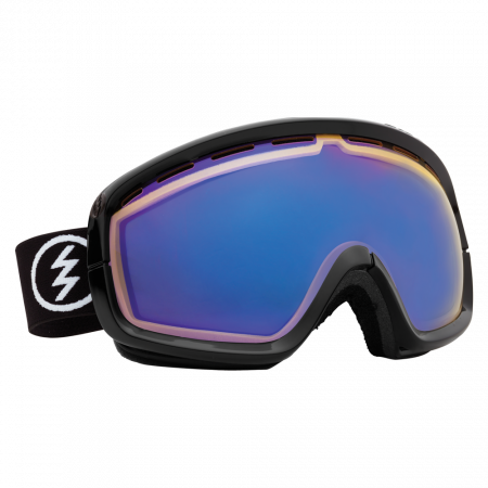 Ochelari Ski ELECTRIC EGB2s Gloss Black (Yellow/Blue Chrome)
