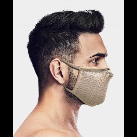 Masca pentru sportivi Naroo FU+ cu filtrare particule Bej